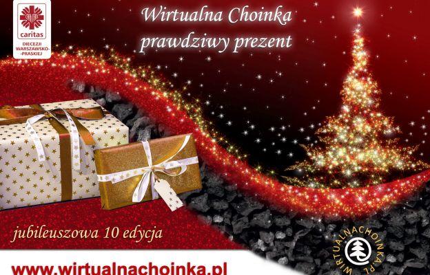 Wirtualna Choinka ma już 10 lat. Zostań św. Mikołajem dla potrzebujących rodzin