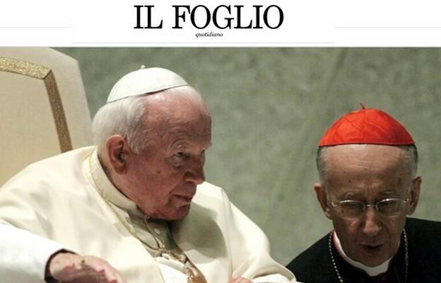 """""""Ręce precz od Jana Pawła II"""". Ważne słowa kard. Ruiniego w obronie Papieża"""
