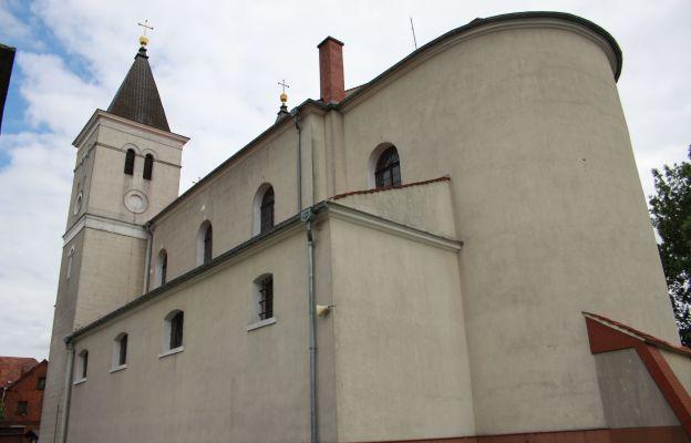 Sanktuarium Matki Bożej Gospodyni Babimojskiej - kościół pw. św. Wawrzyńca w Babimoście