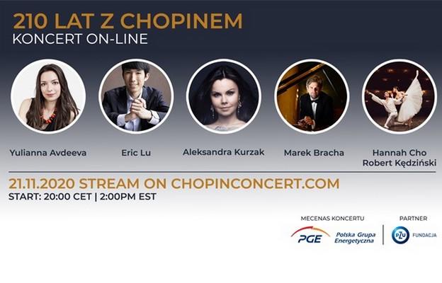 Aleksandra Kurzak i laureaci Konkursu Chopinowskiego uczczą 210 rocznicę urodzin F. Chopina