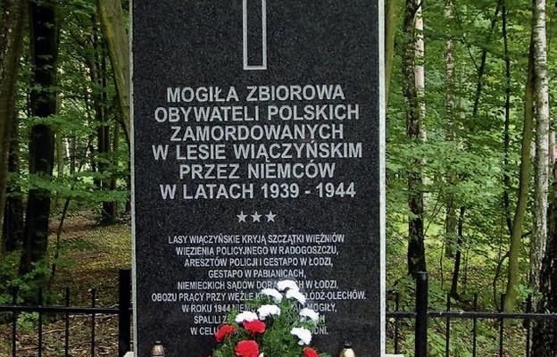 Jednym z miejsc egzekucji był również Las Wiączyński