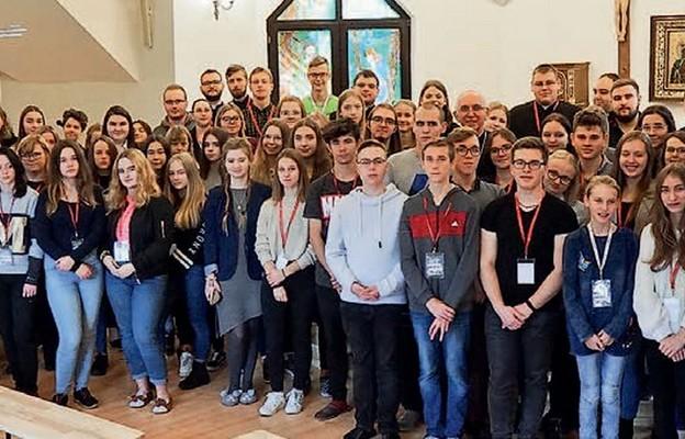 Młodzież zaangażowana w życie Kościoła w Katolickim Stowarzyszeniu Młodzieży