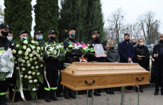 Ochotnicza Straż Pożarna zapewniła honorową asystę pogrzebu
