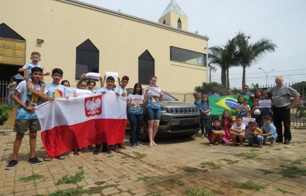 Kielecki misjonarz w Brazylii dziękuje za samochód terenowy dla parafii