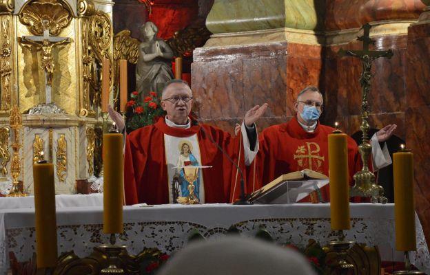 Ks. Jan Węgielski przewodniczył Eucharystii