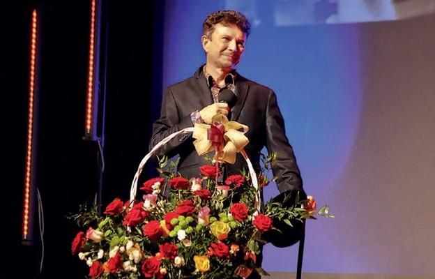 Jacek Wójcicki podczas występu