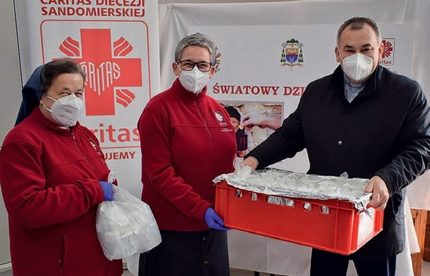 Caritas pomaga głodnym