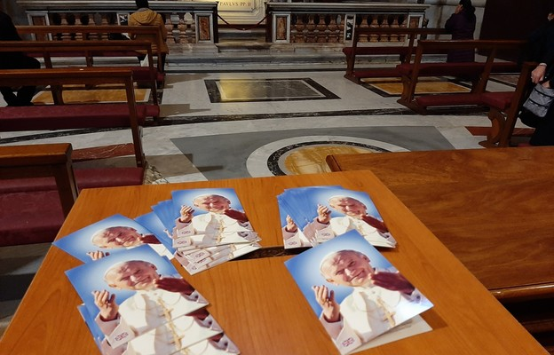Modlitwa dziękczynna za św. Jana Pawła II