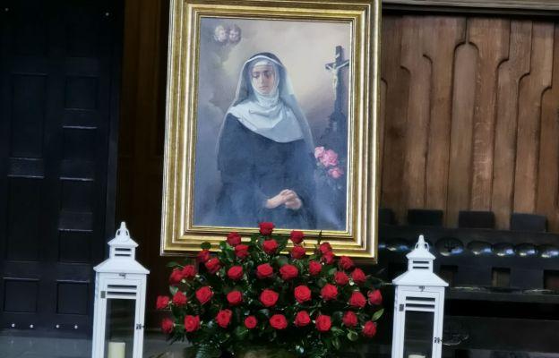 Obraz św. Rity w parafii Ducha Świętego