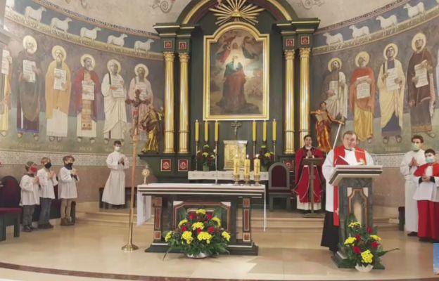 Odpust w parafii św. Klemensa w Ustroniu.