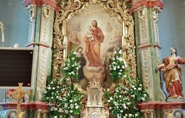 Ołtarz główny św. Józefa