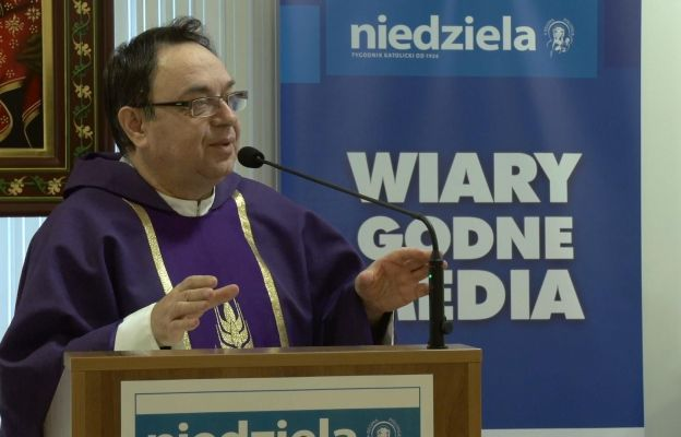 Rekolekcje przeprowadził ks. prof. Krzysztof Guzowski