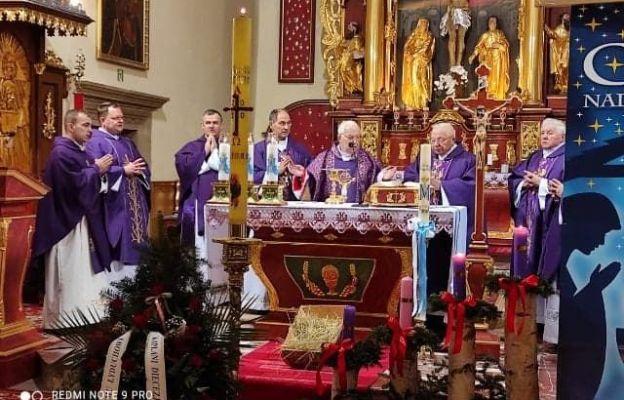 Ostatnie pożegnanie ks. Dionizego Łyducha w Trzcianie