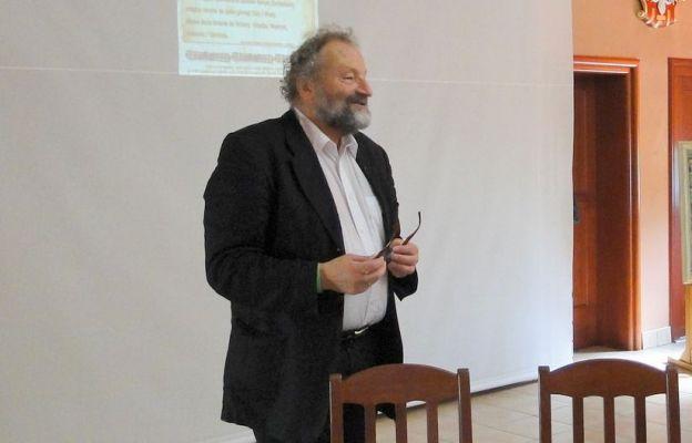 Andrzej Georg prowadzi różne spotkania, także o tematyce papieskiej.