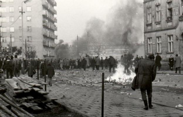 Grudzień 70. Szczecin.