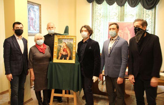 Głogów: Kopia obrazu Cranacha przekazana Kolegiacie