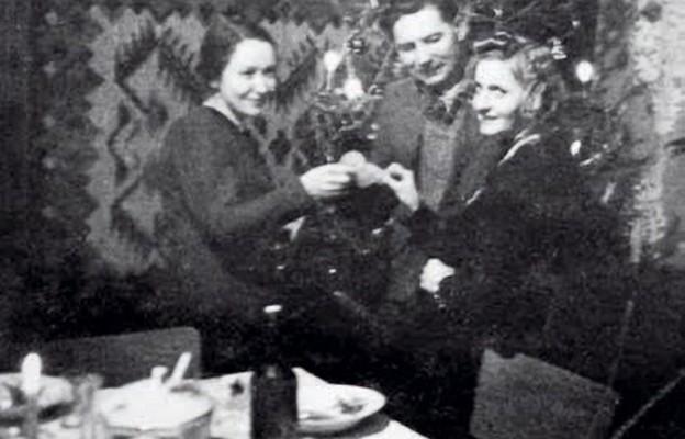 Wigilia świętowana w konspiracji w 1942 r.