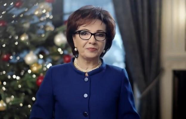 Życzenia świąteczne Marszałek Sejmu