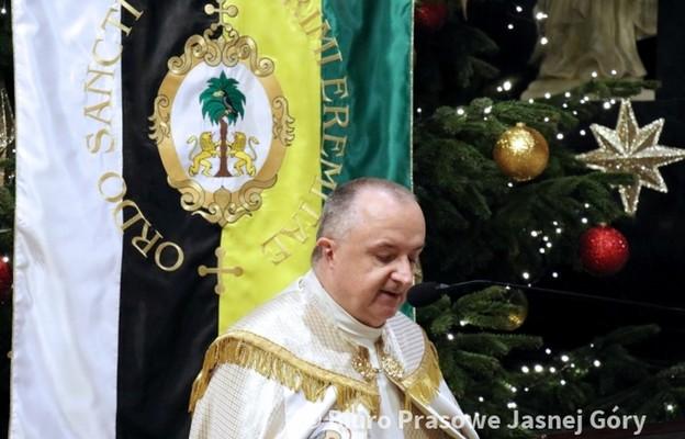O. Paweł Michalik podczas nabożeństwa 'Pawełek' 17 stycznia 2018 r.
