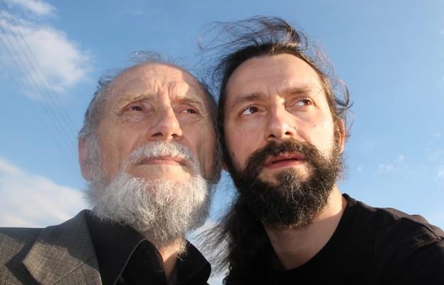 Prof. Jerzy Sztuka z synem Jackiem