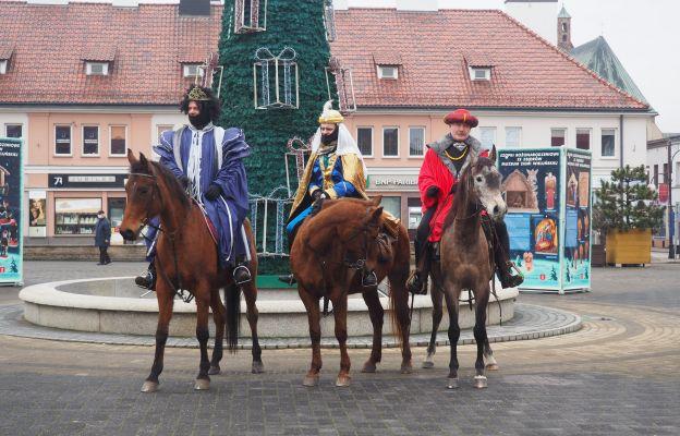 Królewski przejazd przez Wieluń
