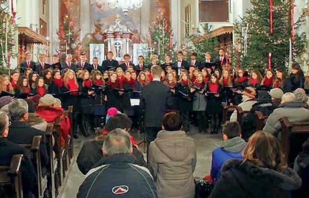 Koncert w węgrowskiej Bazylice, grudzień 2015