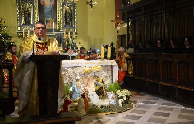 Rektor UPJPII ks. prof. Robert Tyrała na uroczystościach ku czci św. Józefa Sebastiana Pelczara