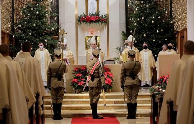 Msza św. w 30. rocznicę przywrócenia Ordynariatu Polowego w Polsce