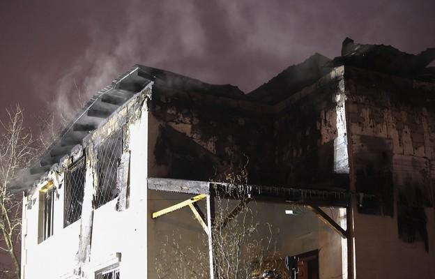 Ukraina: 15 osób zginęło w pożarze w domu opieki dla osób starszych
