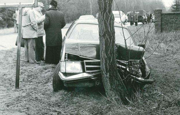 Wypadek samochodowy, w którym zginał sługa Boży bp Wilhelm Pluta