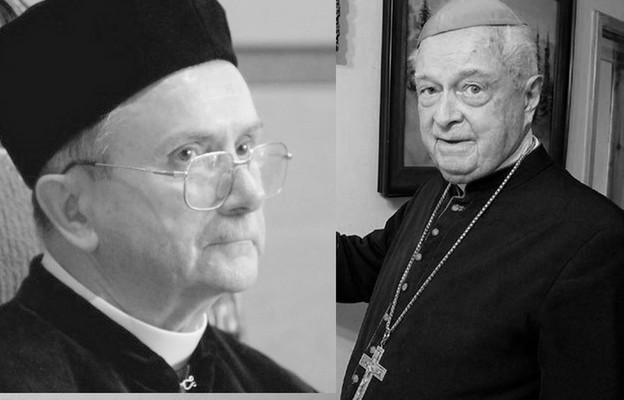 Uroczystości pogrzebowe dwóch biskupów