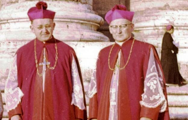 Bp Pluta ibp Jeż wRzymie podczas Soboru Watykańskiego II