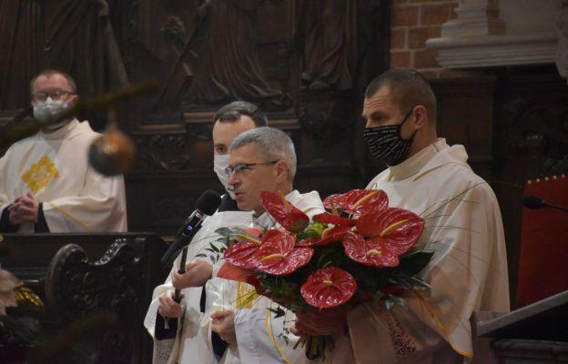 Przemawia rektor PWT we Wrocławiu - ks. prof. Włodzimierz Wołyniec