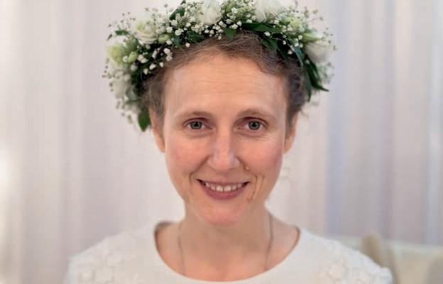 Magdalena Murawska wdniu konsekracji (18.11.2018)