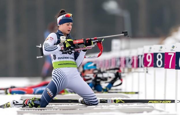 ME w biathlonie - triumf Kamili Żuk w biegu na dochodzenie