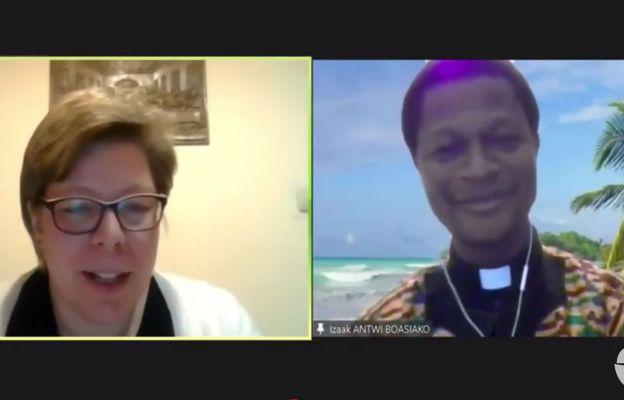 Internetowe spotkanie z misjonarzem. MJscreen