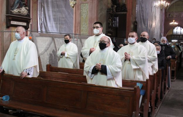Koncelebransi podczas Mszy św. w święto Objawienia Pańskiego
