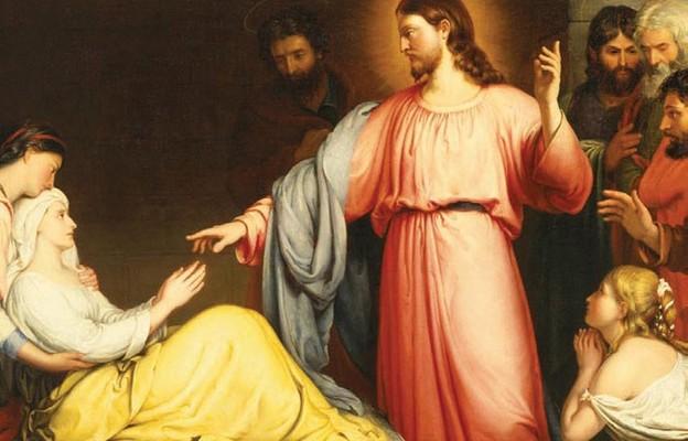 Jezus uzdrawia i wypędza złe duchy