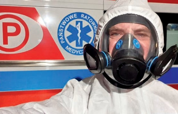 Robert Kijanka pomaga również zarażonym koronawirusem