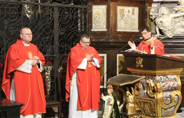 Celebracja Mszy św. ku czci św. Błażeja