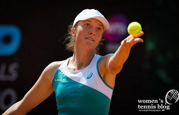 Wimbledon: Iga Świątek odpadła w 1/8 finału