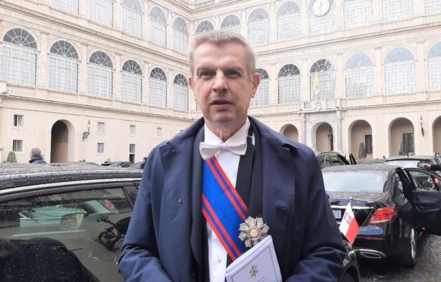 Ambasador Kotański o spotkaniu Franciszka z Korpusem Dyplomatycznym