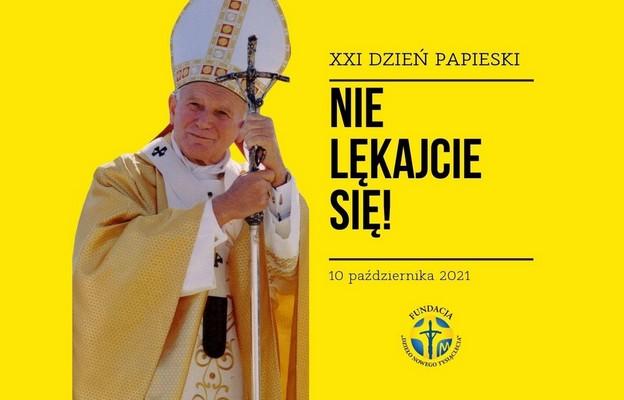"""XXI Dzień Papieski: """"Nie lękajcie się""""  – interpretacja hasła"""