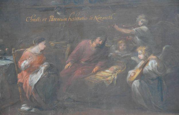 Michał Willmann, życie św. Rodziny w Nazarecie
