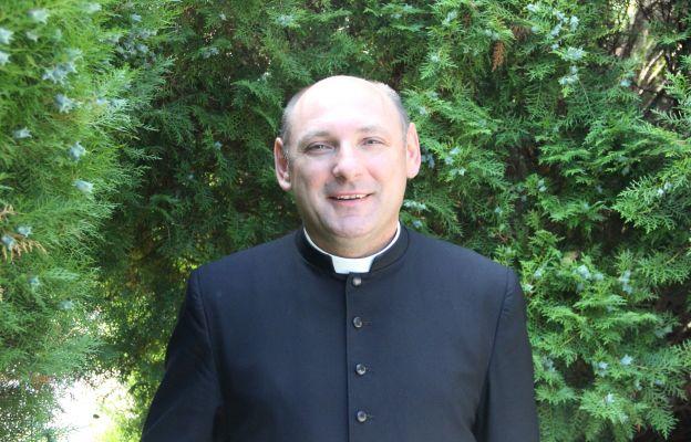 ks. kan. Robert Patro, dyrektor Wydziału Duszpasterskiego Kurii Diecezjalnej w Zielonej Górze