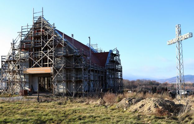 Jak idzie budowa kościoła na Konradowie?