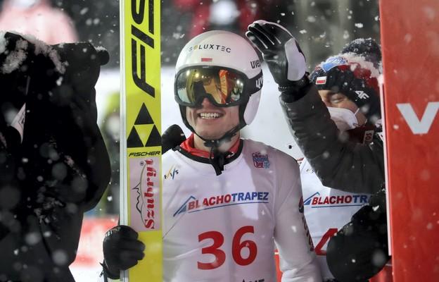 Andrzej Stękała drugi  w zawodach Pucharu Świata w Zakopanem