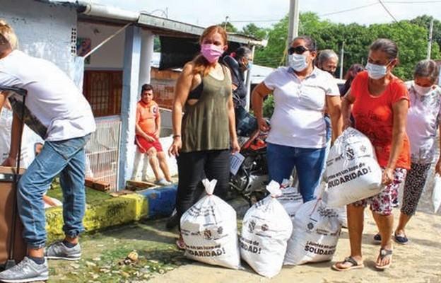 Głodnych nakarmić. Caritas Polska pomaga Wenezueli