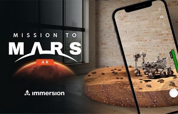 Polska aplikacja rzeczywistości rozszerzonej promuje badania Marsa