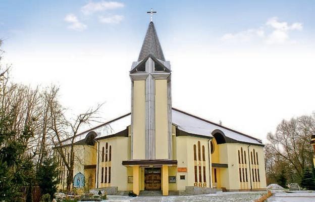 Świątynia parafii św. Rafała Kalinowskiego w Sosnowcu